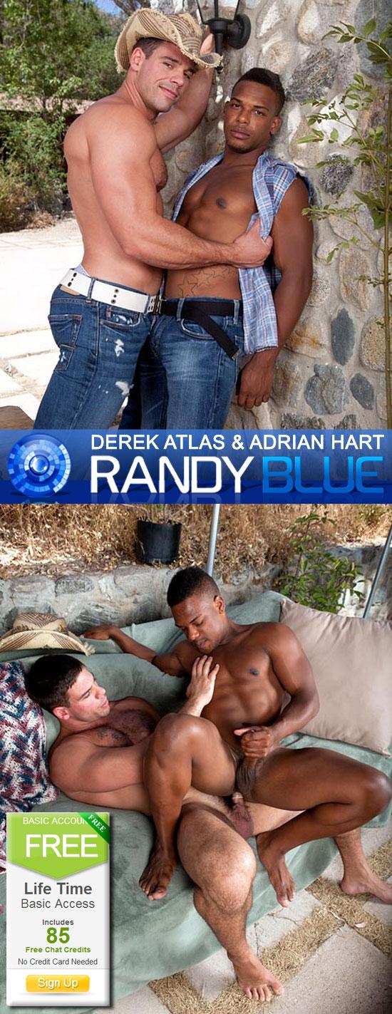 Derek Atlas fucks Adrian Hart