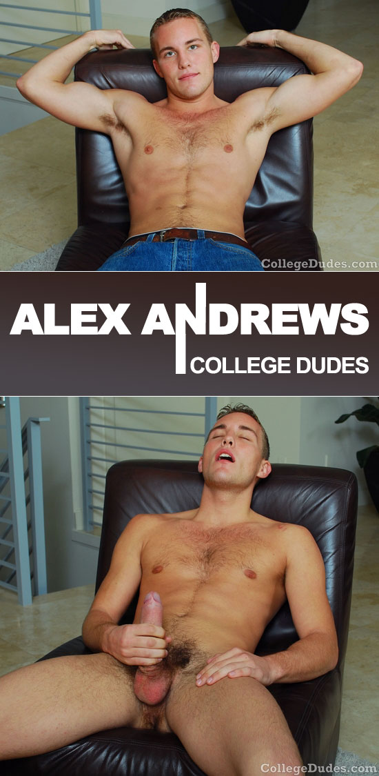 Alex Andrews busts a nut