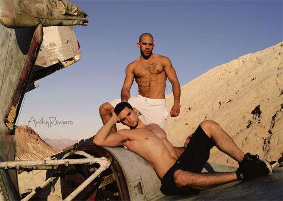 Austin Wilde and Anthony Romero