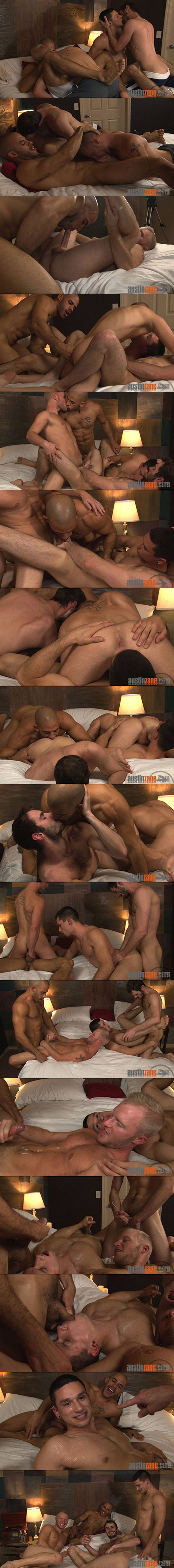 Anthony Romero and Austin Wilde show up at AustinZane.com