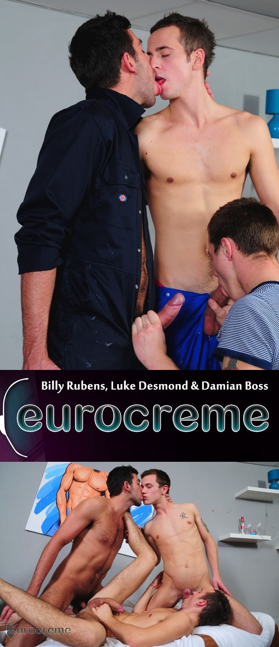 Billy Rubens, Luke Demond and Damian Boss