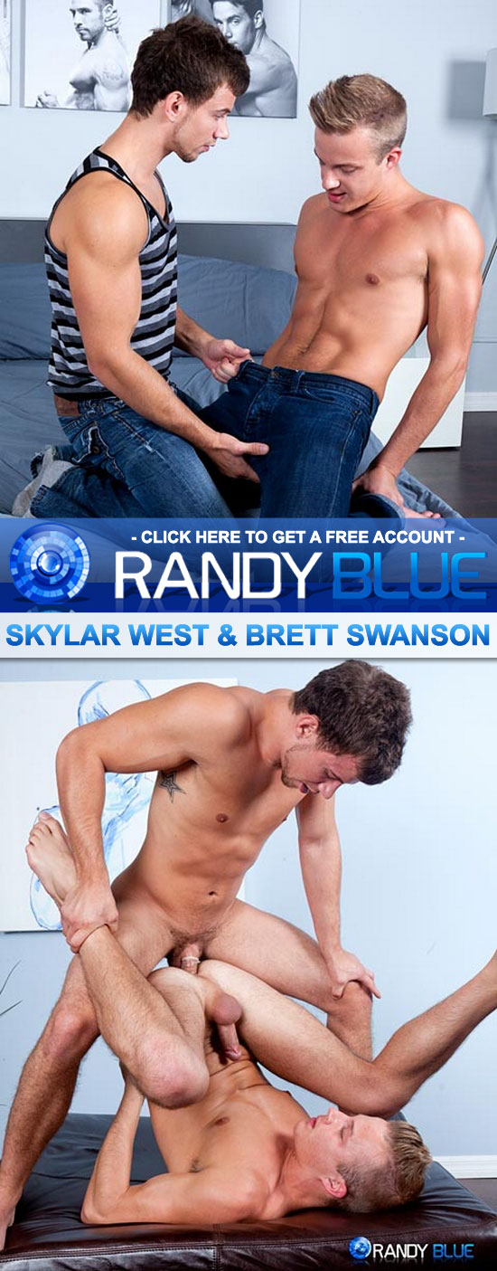 Brett Swanson fucks Skylar West