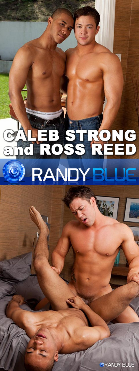 Caleb Strong fucks Ross Reed