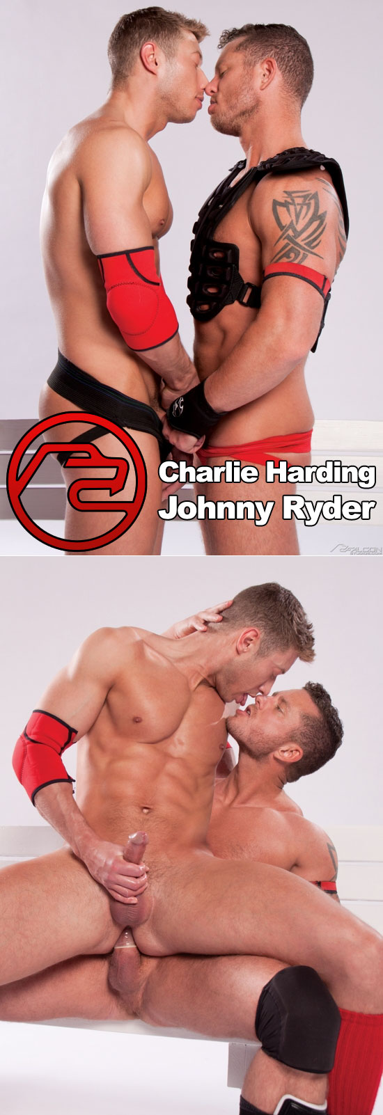 Charlie Harding fucks Johnny Ryder