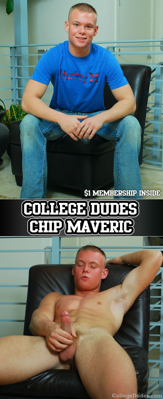 Chip Maveric busts a nut