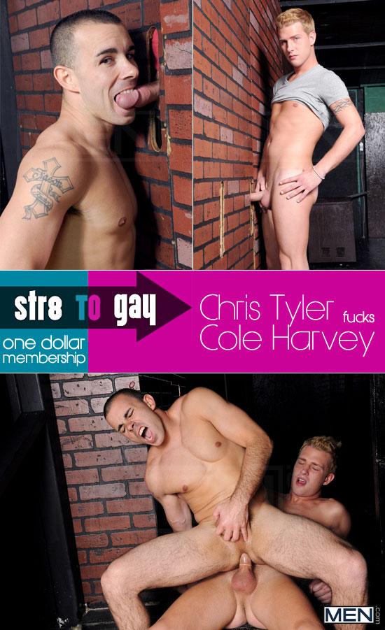 Chris Tyler fucks Cole Harvey