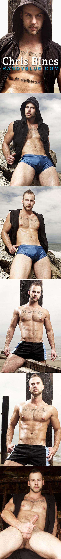 Randy Blue model Chris Bines