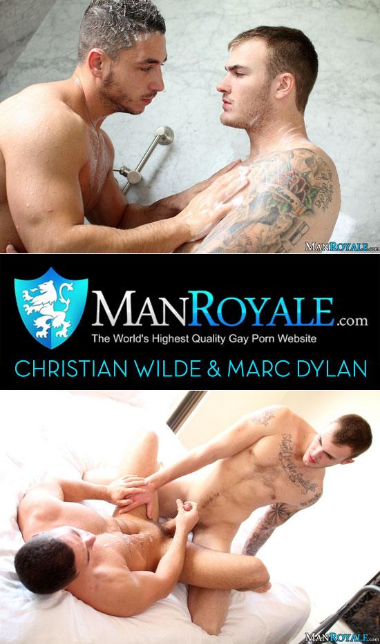 Christian Wilde fucks Marc Dylan