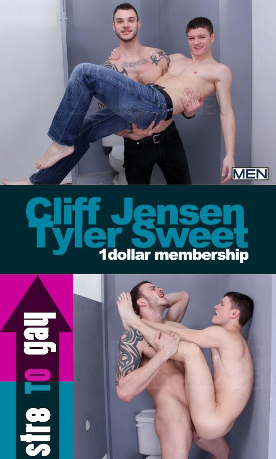 Cliff Jensen fucks Tyler Sweet