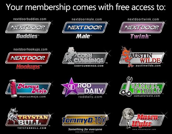 Free bonus sites with your Cody Cummings membership
