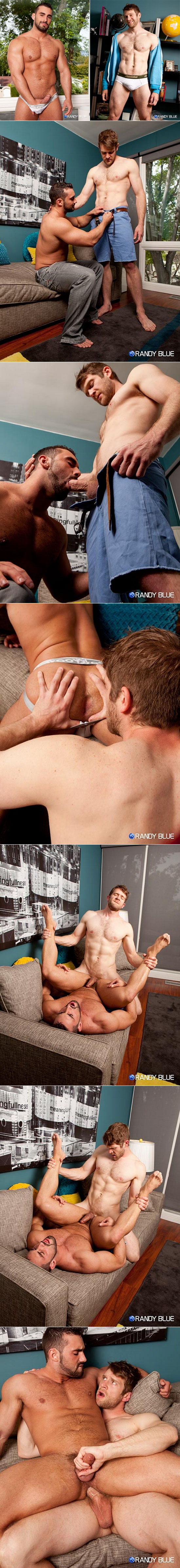 Colby Keller and Jaxton Wheeler at Randy Blue