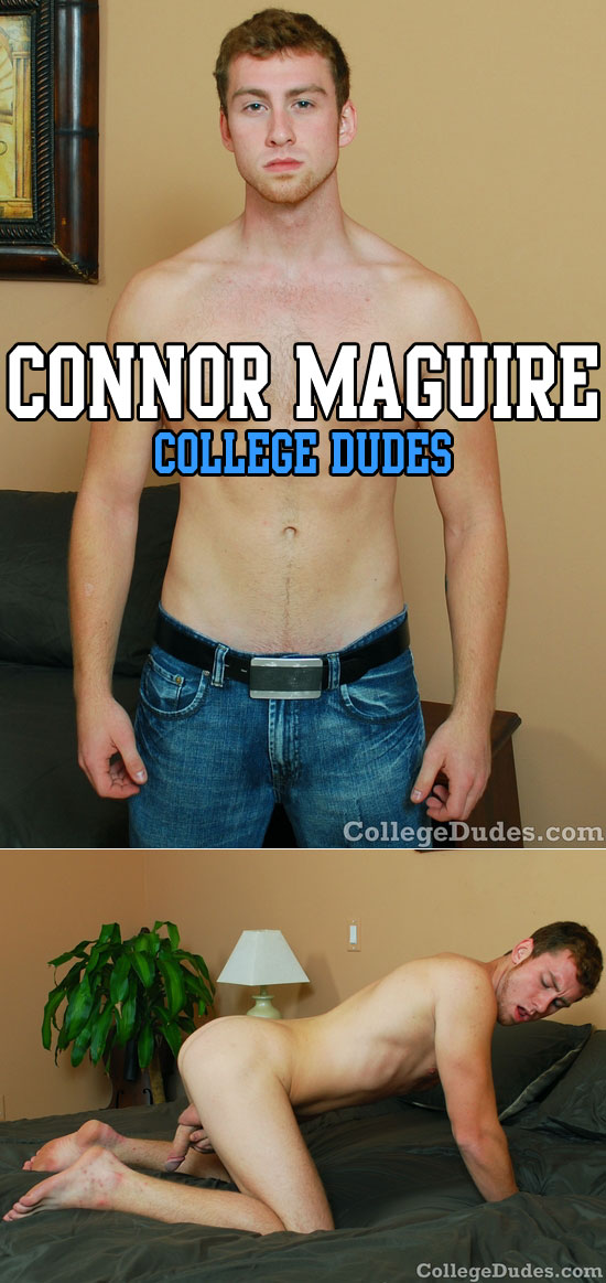 Connor Maguire busts a nut
