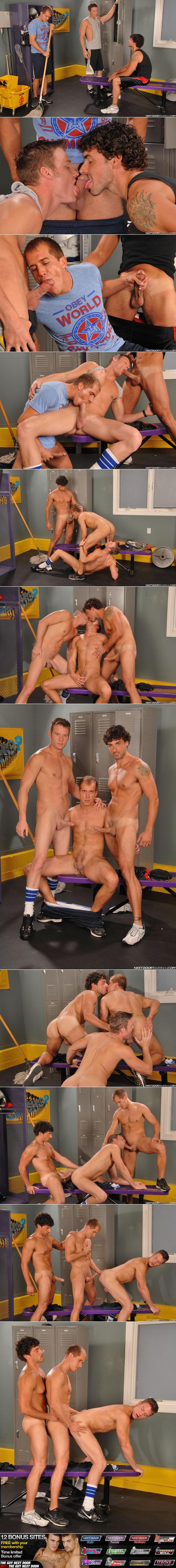 Steven Daigle, Brandon Lewis and Jeremy Bilding