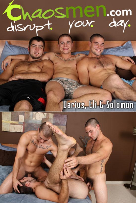 Darius, Eli and Solomon
