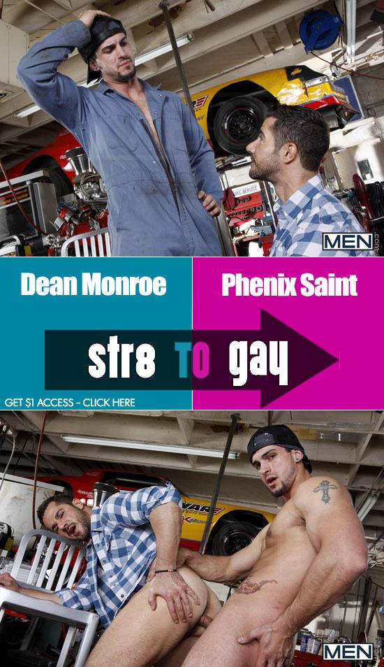 Phenix Saint fucks Dean Monroe
