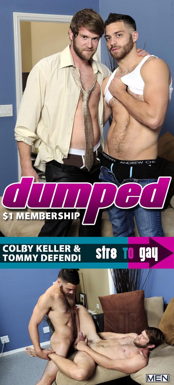 Colby Keller and Tommy Defendi flip flop