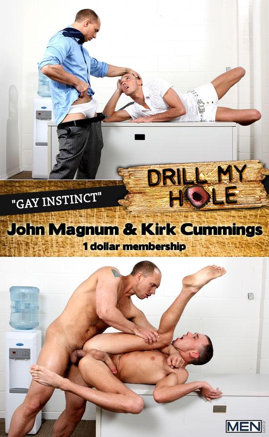 John Magnum fucks Kirk Cummings