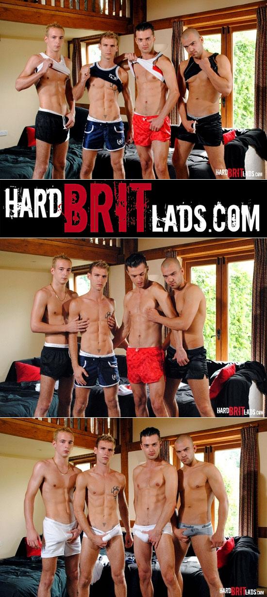 GangBang at Hard Brit Lads