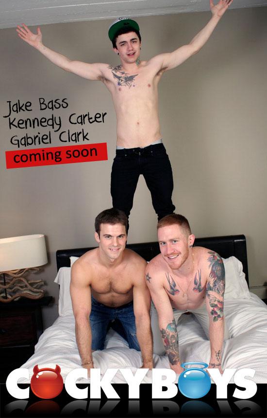 Jake Bass, Kennedy Carter, Gabriel Clark