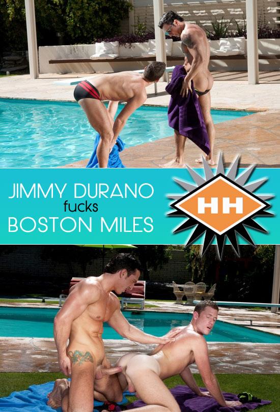 Jimmy Durano fucks Boston Miles