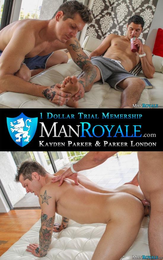 Kayden Parker fucks Parker London