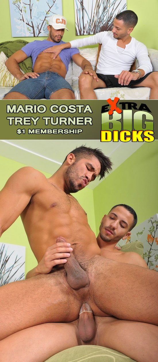 Mario Costa fucks Trey Turner
