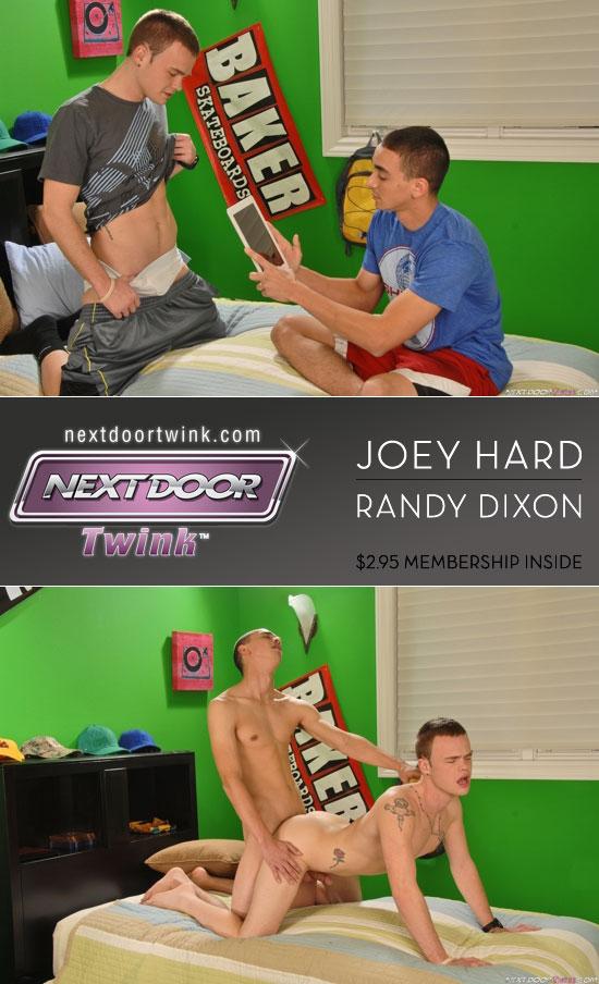Randy Dixon and Joey Hard flip flop