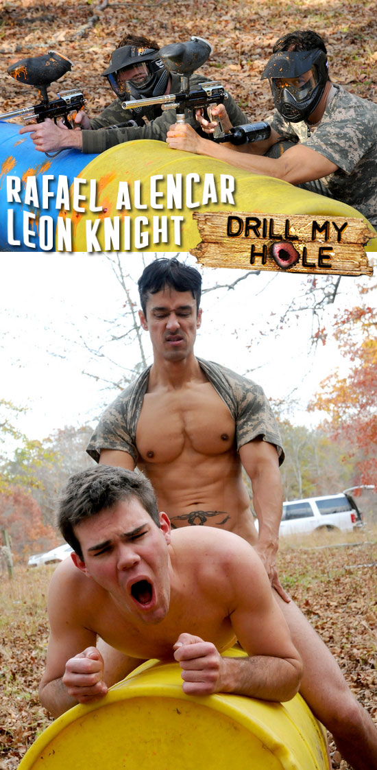 Rafael Alencar fucks Leon Knight