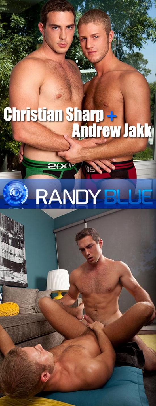 Christian Sharp fucks Andrew Jakk