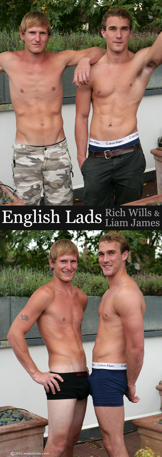 Rich Wills and Liam James