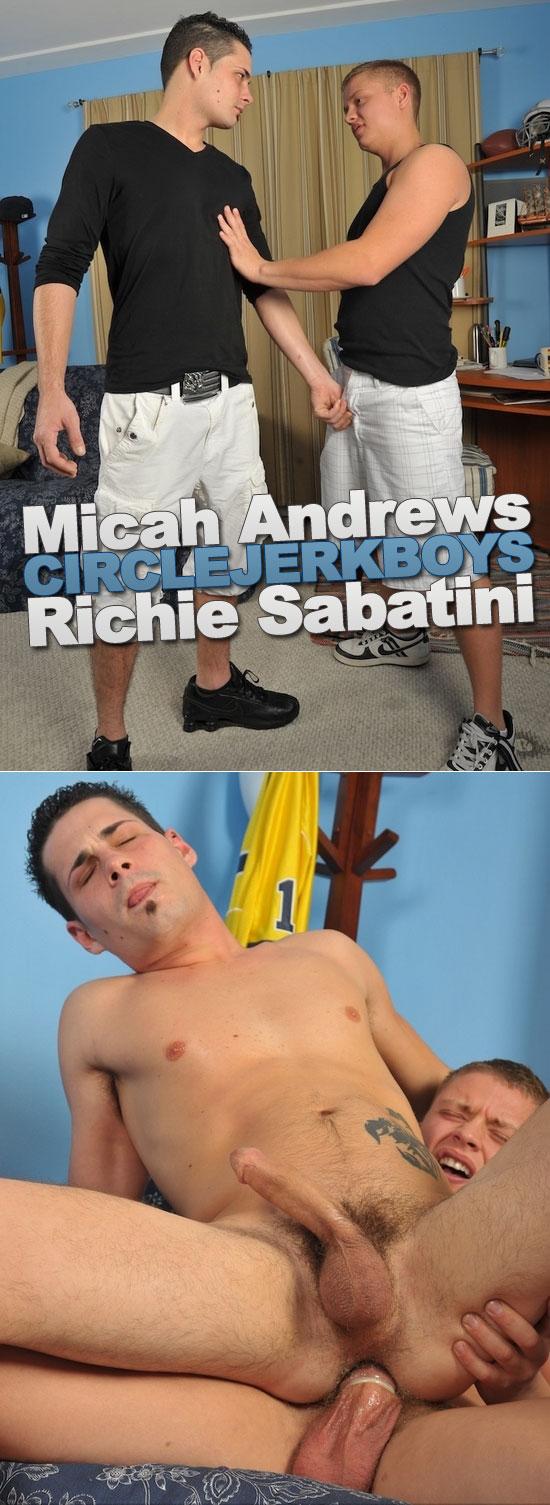 Richie Sabatini and Micah Andrews flip fuck