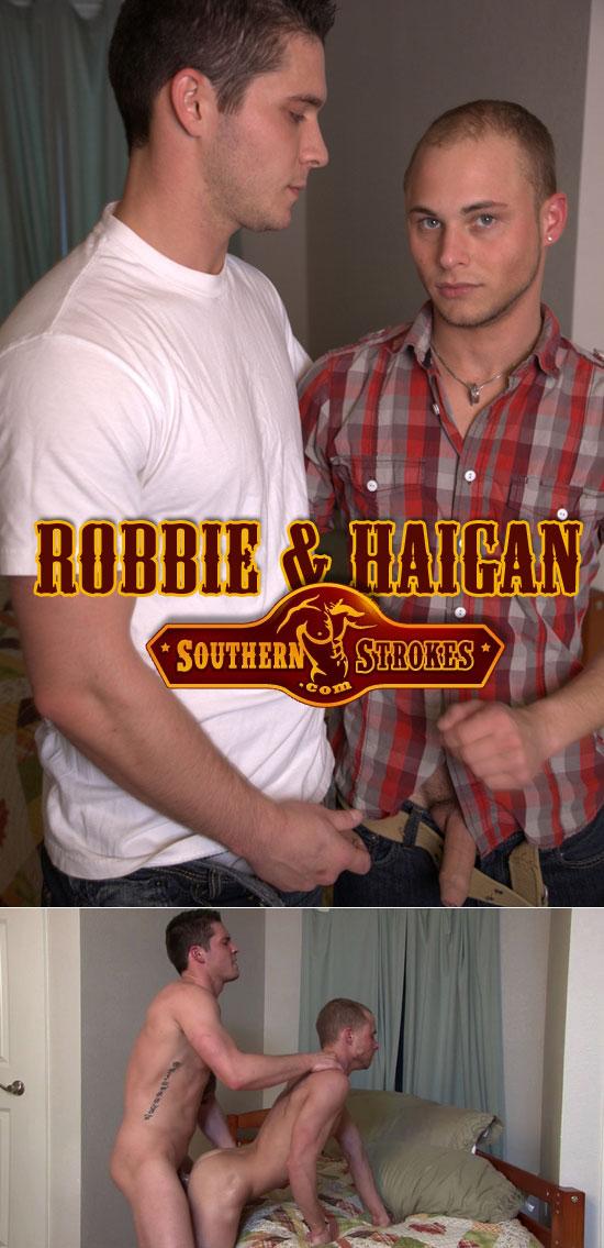 Haigan fucks Robbie
