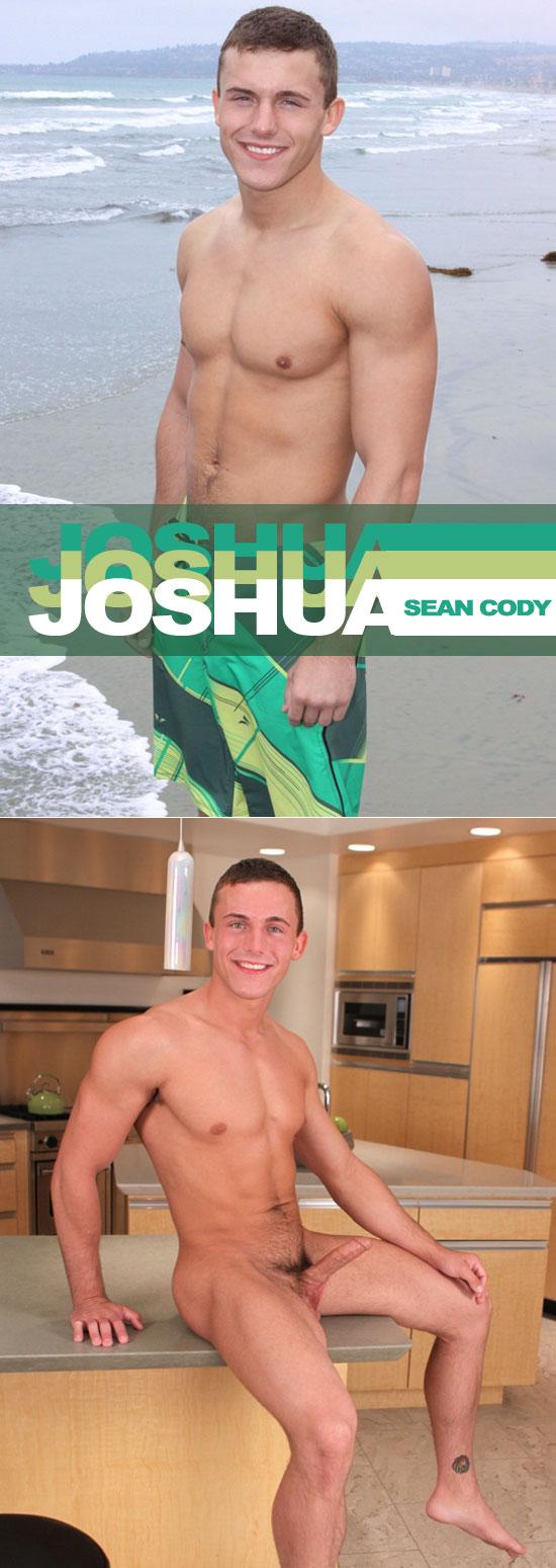 Joshua jerks off for Sean Cody