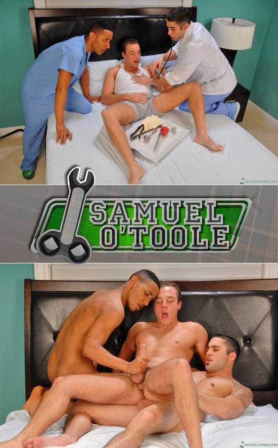 Samuel O'Toole, Eduardo Dante and Rhett Brenner