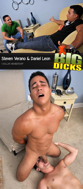 Daniel Leon sucks Steven Verano