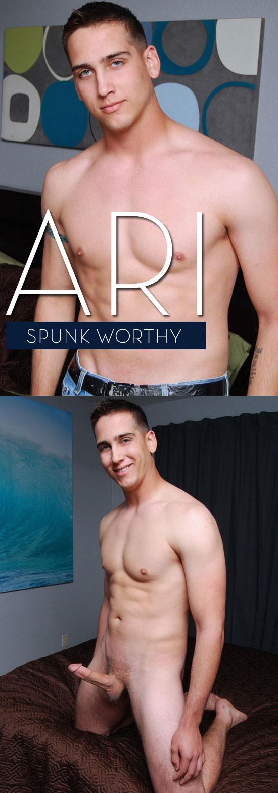 Ari cums again