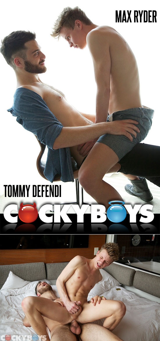 Tommy Defendi fucks Max Ryder