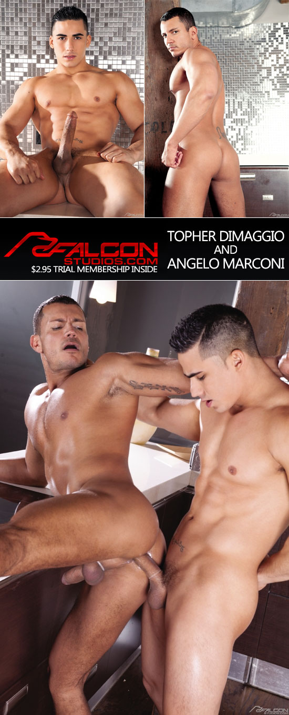 Topher DiMaggio fucks Angelo Marconi