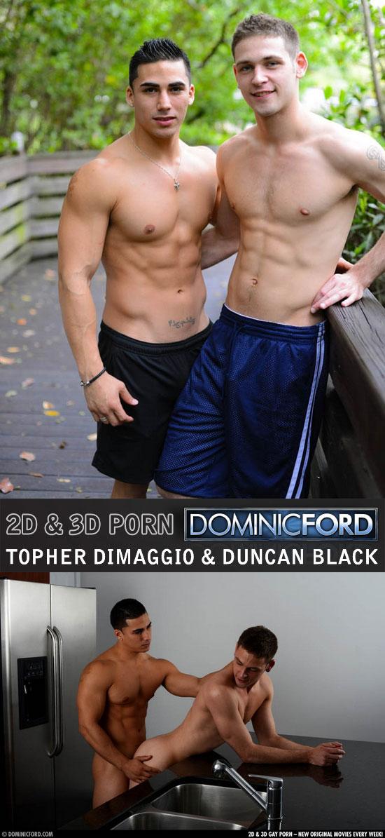 Topher DiMaggio fucks Duncan Black
