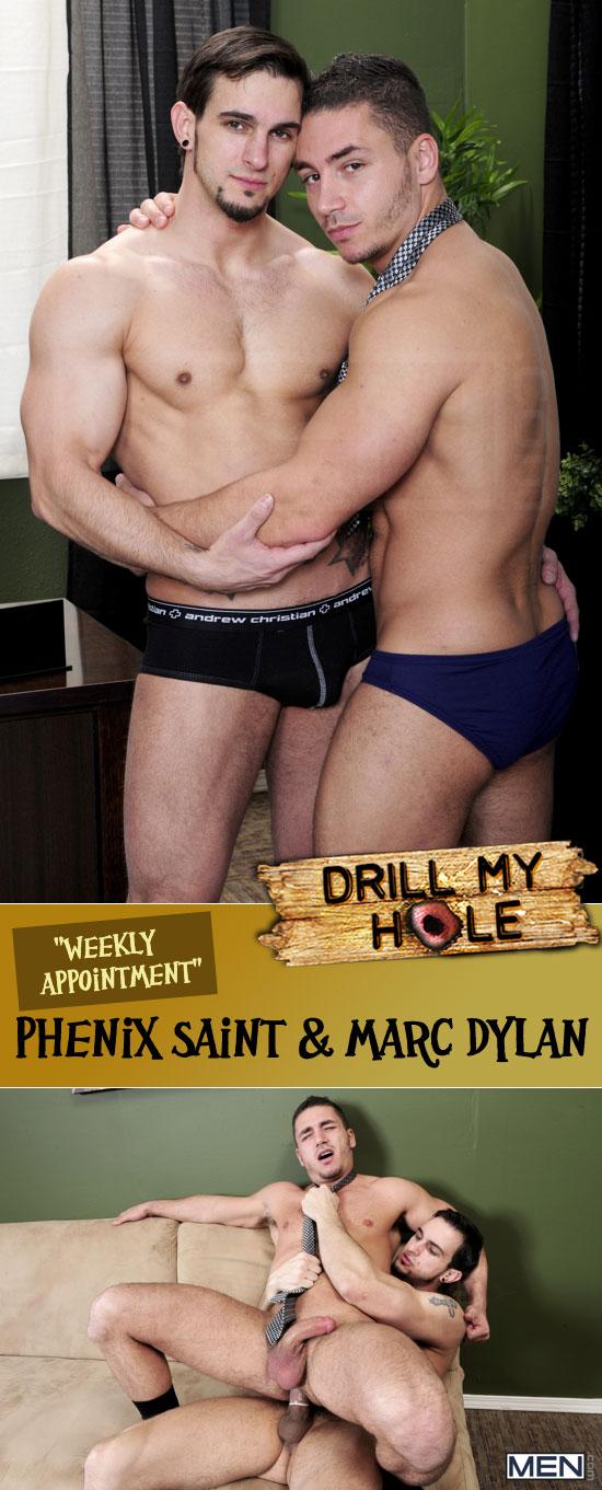 Phenix Saint fucks Marc Dylan