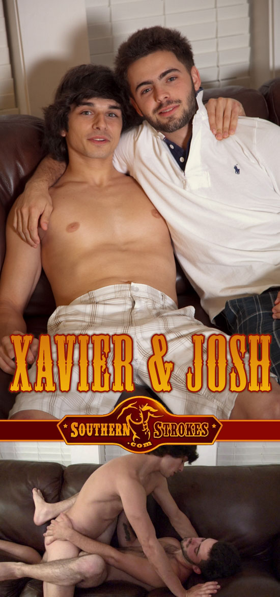 Xavier fucks Josh