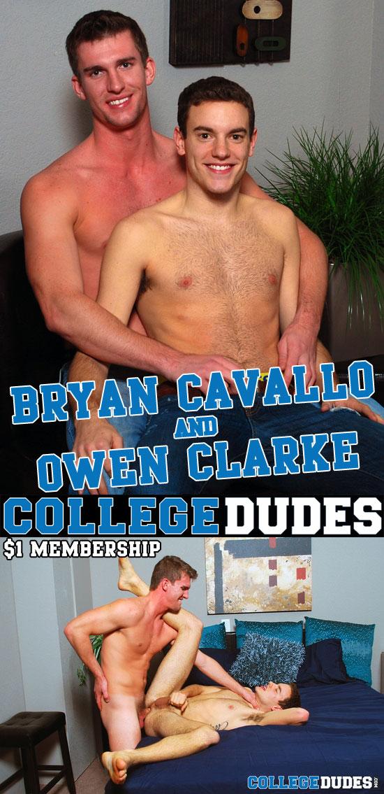 Bryan Cavallo fucks Owen Clarke