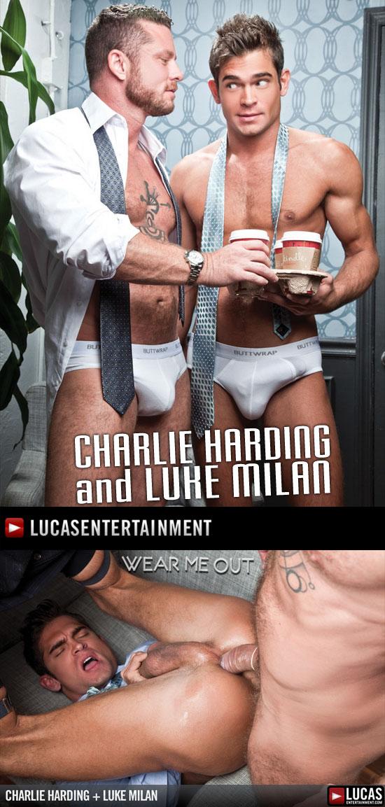 Charlie Harding fucks Luke Milan