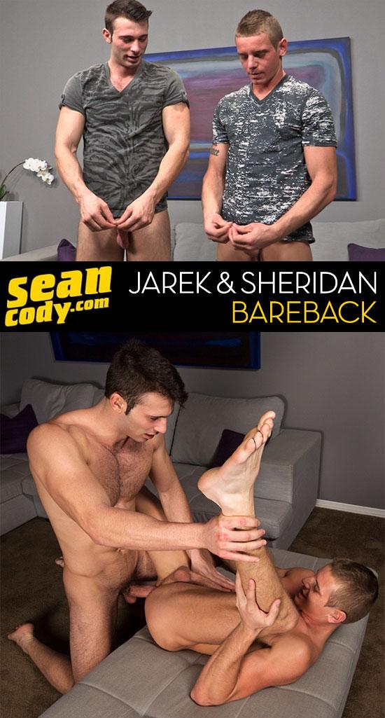 Jarek barebacks Sheridan