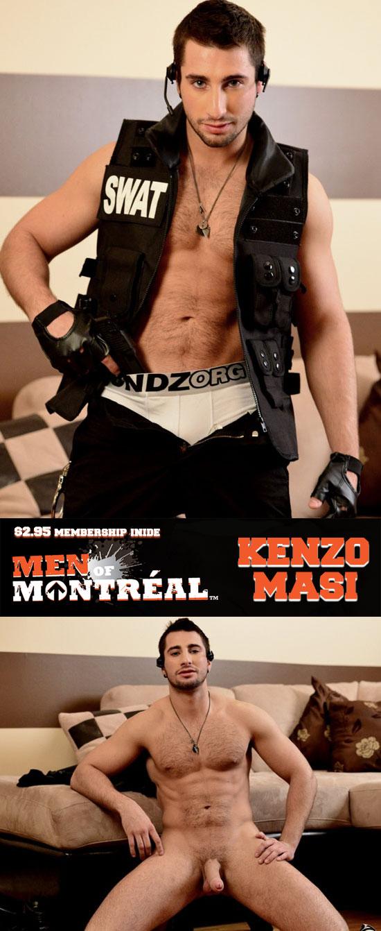 Kenzo Masi jerks off