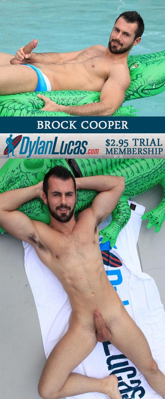 Brock Cooper jerks off
