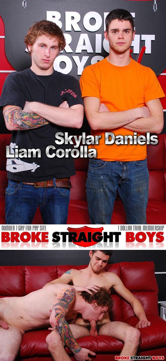 Liam Corolla sucks Skyler Daniels