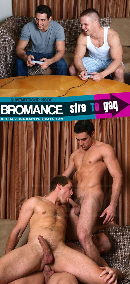 Bromance at Str8 To Gay
