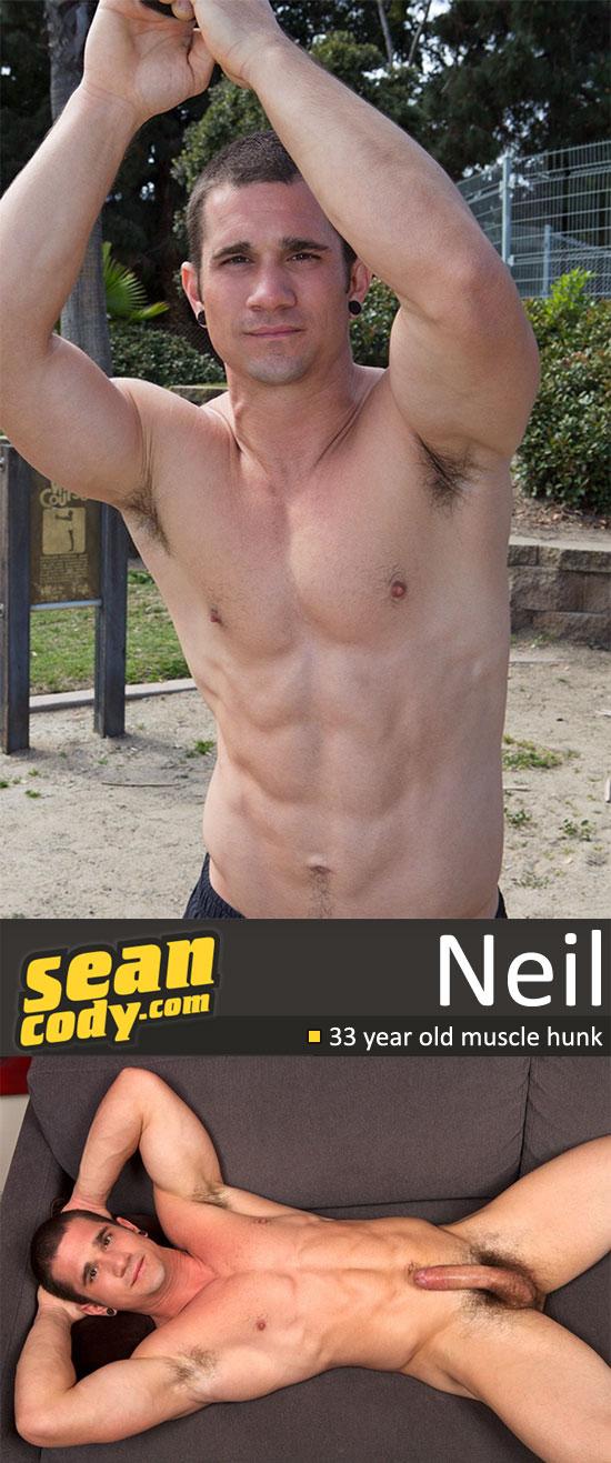 Neil jerks off for Sean Cody