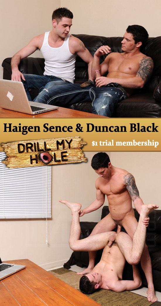 Haigen Sence fucks Duncan Black